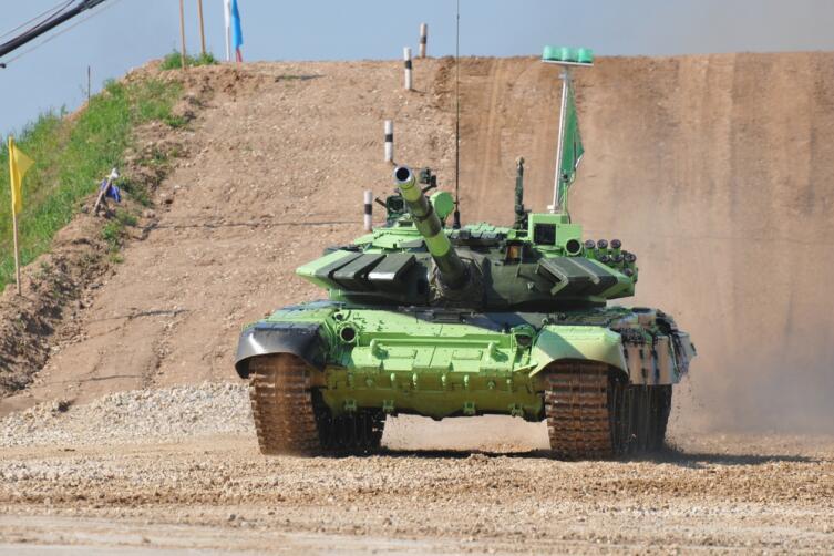 Что такое танковый биатлон?