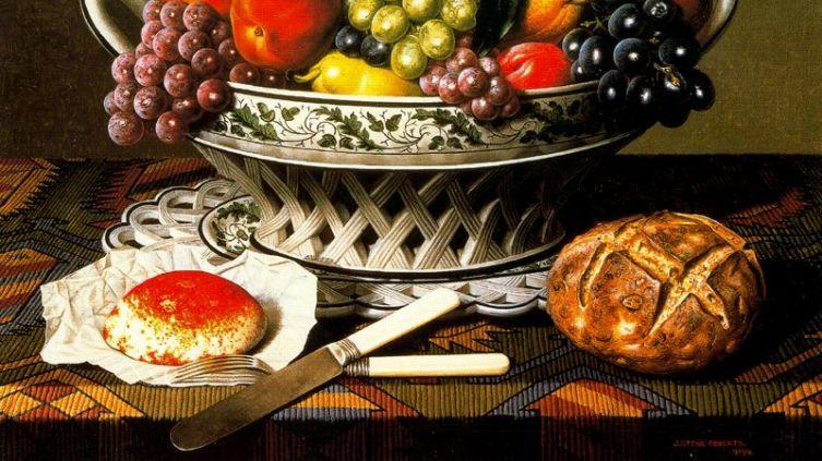 Стоун Робертс, «Фрукты, нож и вилка»