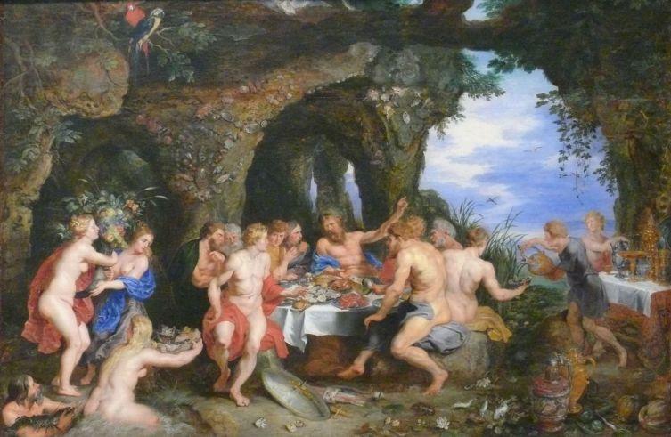 Питер Пауль Рубенс, «Пир Ахелоя», 1615 г.