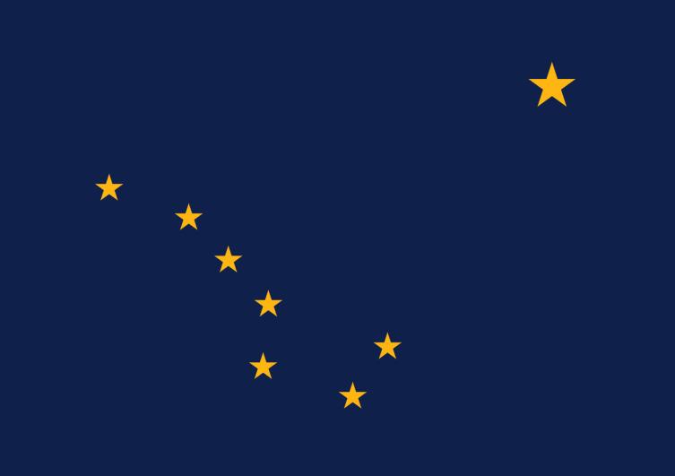 Флаг Аляски