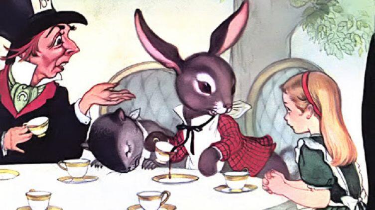 Марджори Торрей, «Приглашение на чай», фрагмент, 1955 г.