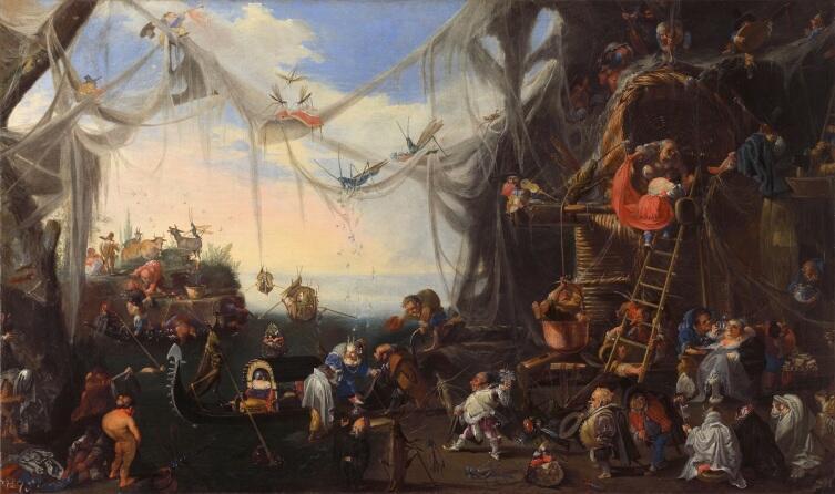 Фаустино Бокки, «Прибытие невесты», частная коллекция