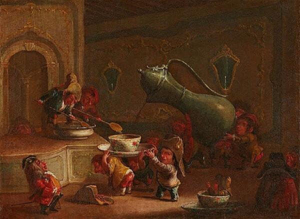 Гномы Фаустино Бокки. Как он изобразил их жизнь?