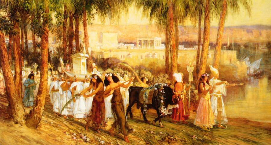 Ф. А. Бриджмен, «Процессия в честь Исиды»