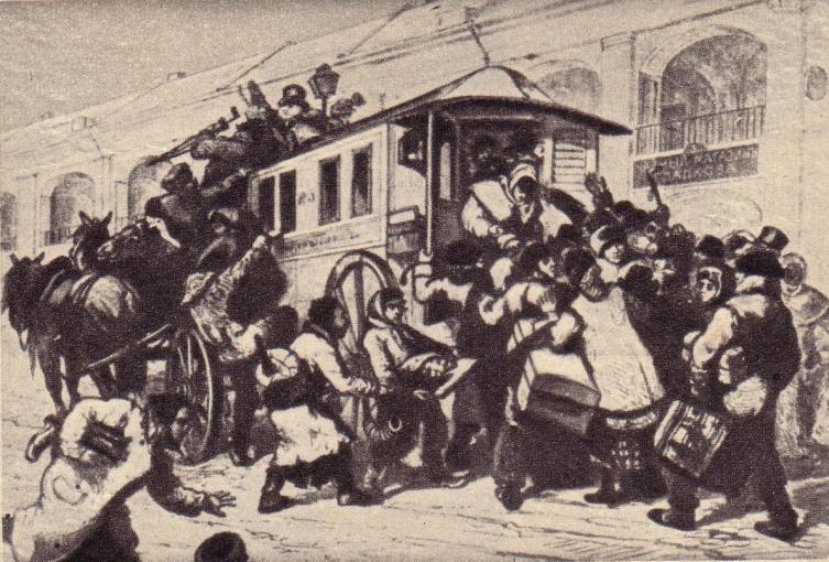Первый петербургский омнибус 1832 г.