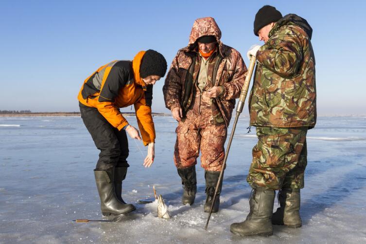 В чем прелесть зимней рыбалки?