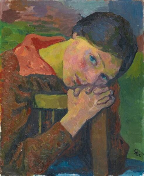 Джованни Джакометти, «Мечты о будущем», 1916 г.