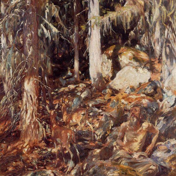 Джон Сингер Сарджент, «Отшельник», 1908 г.
