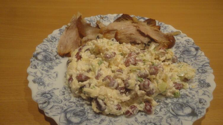 Как приготовить салат из фасоли так, чтобы пробил его звездный час?