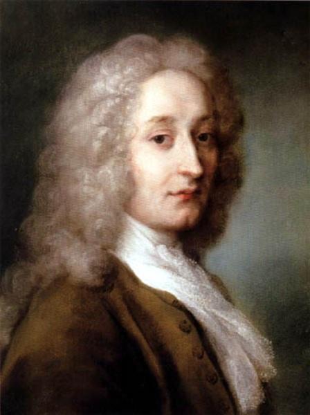 Розальба Каррьера, «Gортрет Антуана Ватто», 1721 г.