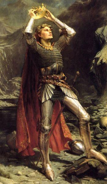 Чарльз Эрнест Батлер, «Король Артур», 1903 г.