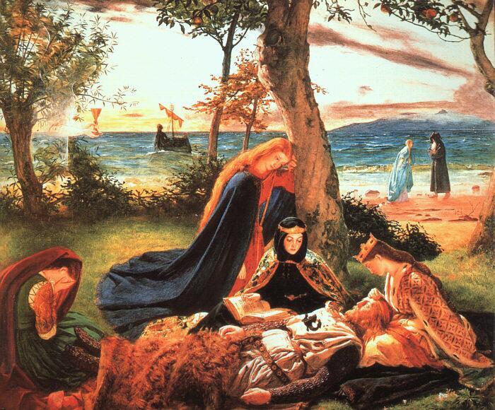 Джеймс Арчер, «Смерть короля Артура»