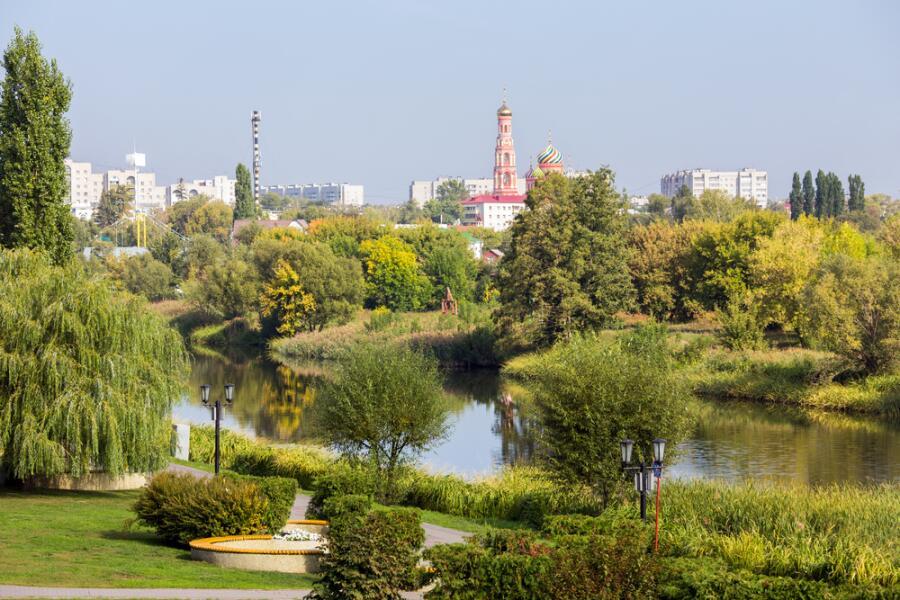 Вид на город Тамбов
