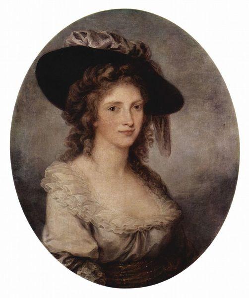 Ангелика Кауфман, «Автопортрет», 1780-1785 гг.