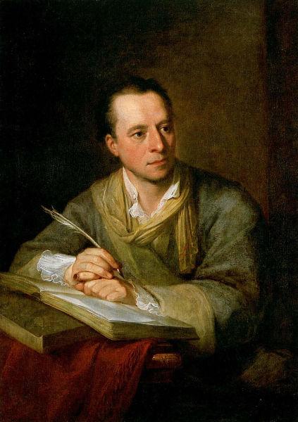 Ангелика Кауфман, «Портрет И. И. Винкельмана», 1764 г.