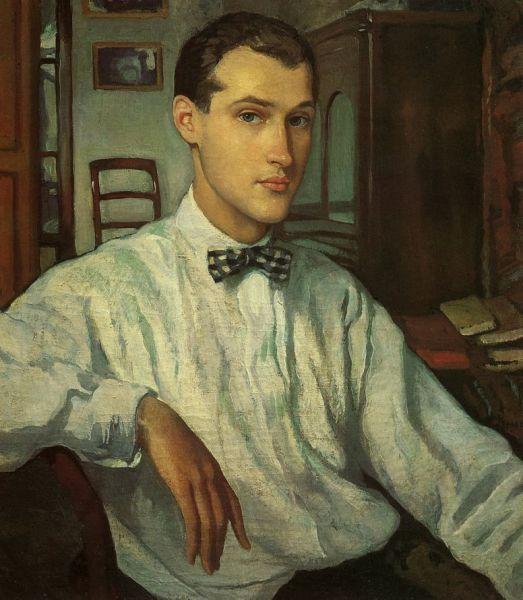 З. Е. Серебрякова, «Портрет С. Р. Эрнста», 1921 г.
