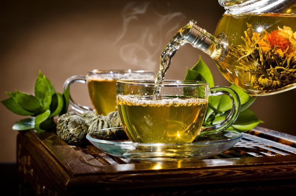 картинки зеленого чая в чайнике наследие