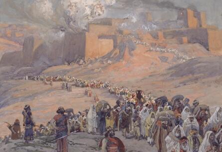 Дж. Тиссо, «Бегство пленников», 1896—1902 гг.
