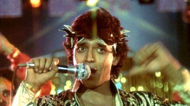 Кадр из к/ф «Танцор диско», 1982 г.