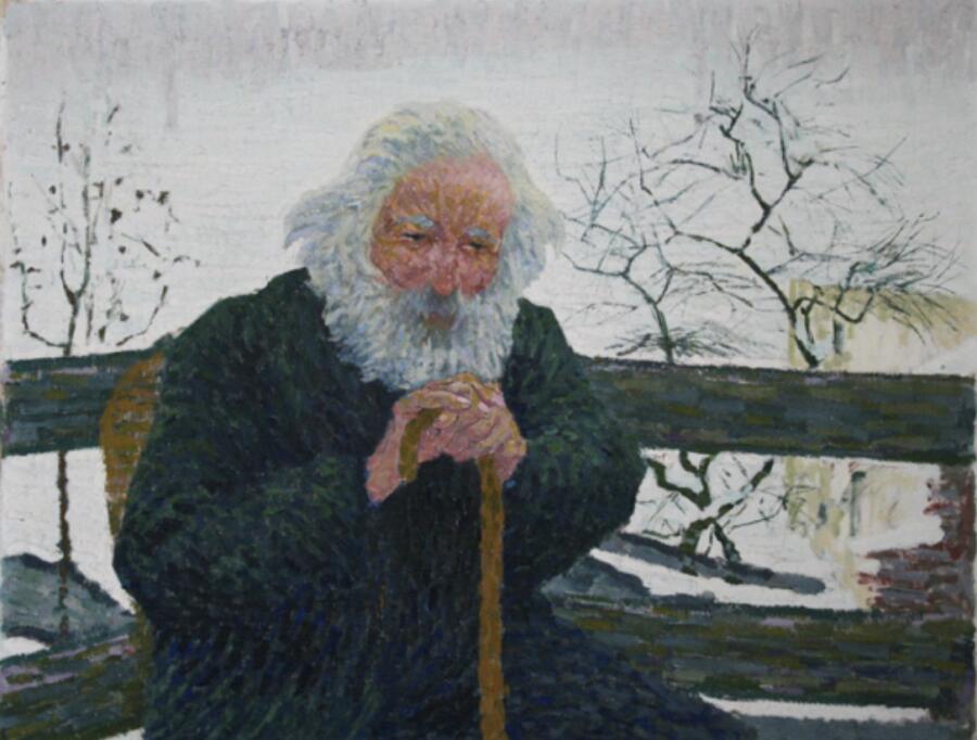 Джованни Джакометти, «Старик», 1907 г.