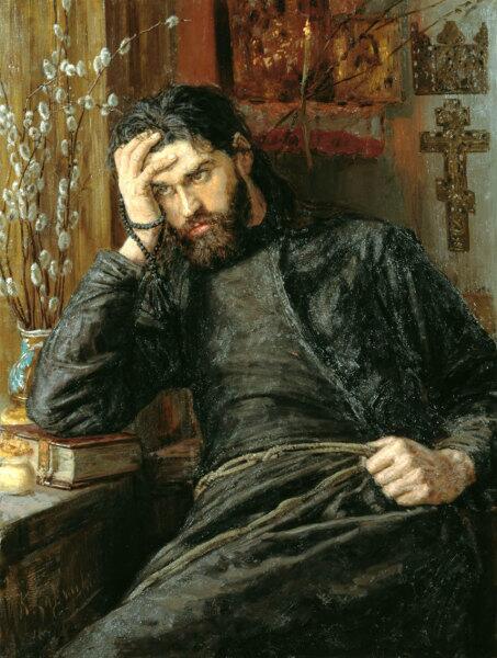 К. А. Савицкий, «Инок» 1897 г.