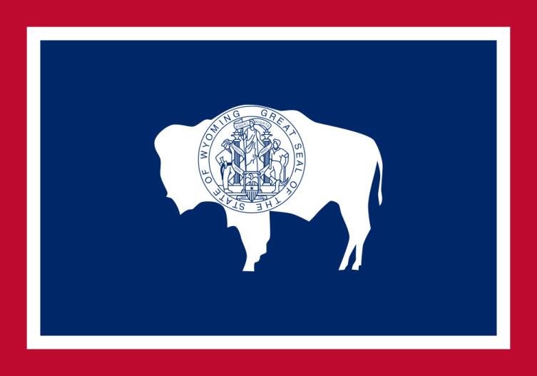 Флаг Вайоминга