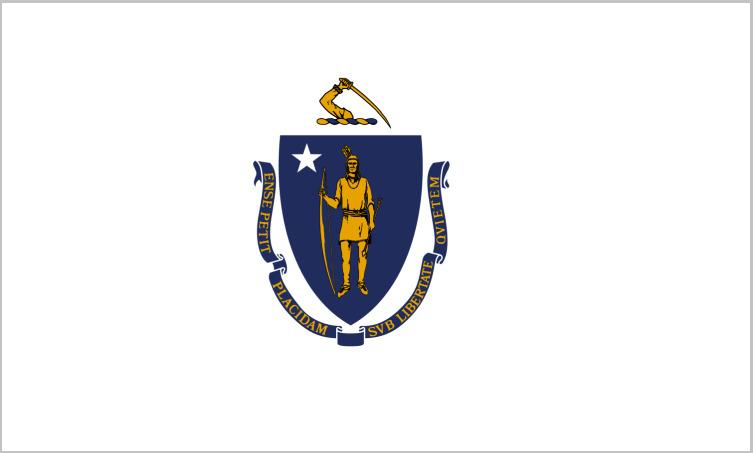 Флаг Массачусетса