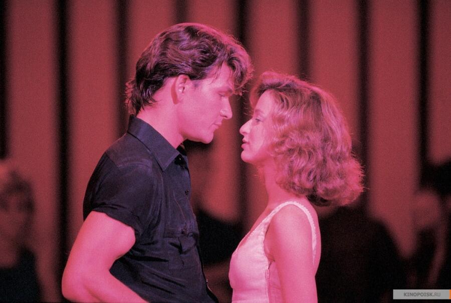Кадр из к/ф «Грязные танцы», 1987 г.