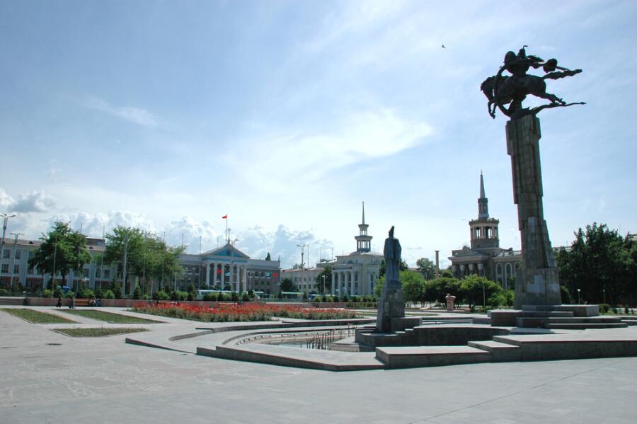 Город Бишкек, Киргизия