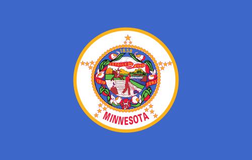 Флаг Миннесоты