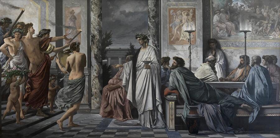 Ансельм Фейербах, «Пир Платона»
