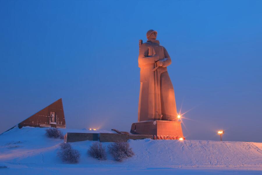 Мемориал «Защитникам Советского Заполярья в годы Великой Отечественной войны» («Алёша»), Мурманск