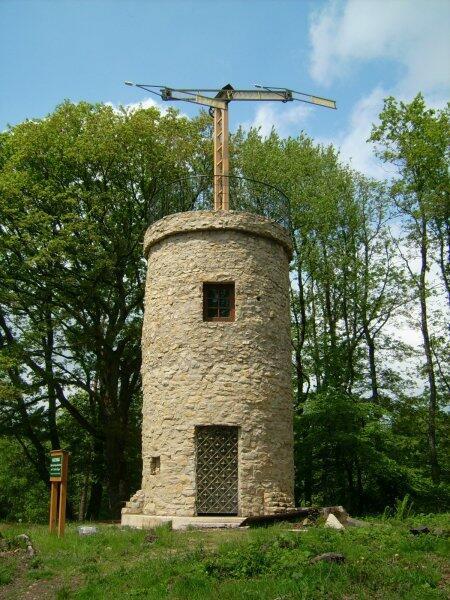 Башня телеграфа Шаппа в Литермонте, Германия