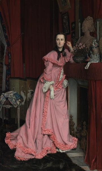 Джеймс Тиссо, «Портрет маркизы Мирамон», 1866 г.