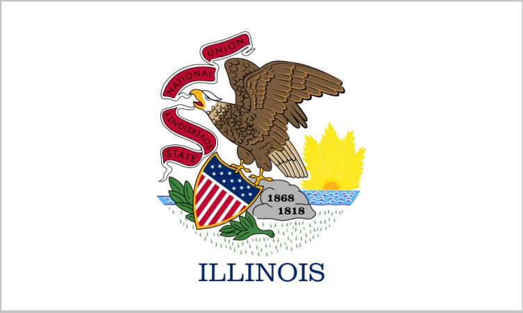 Флаг Иллинойса
