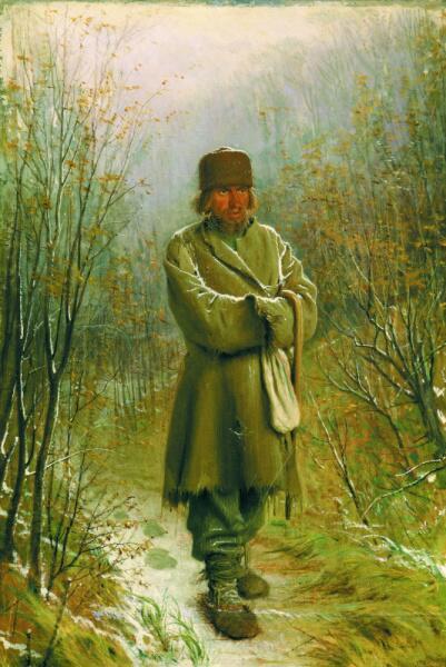 И. Н. Крамской, «Созерцатель», 1876 г.