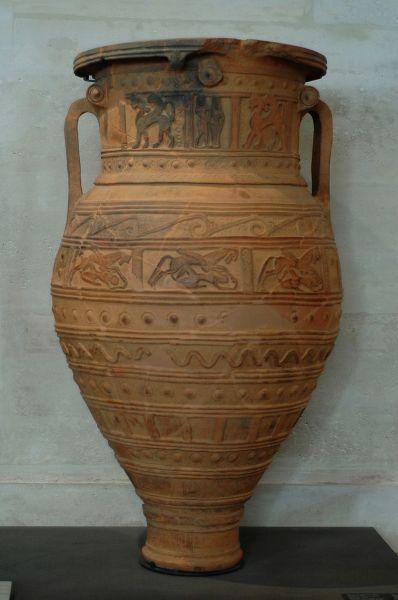 Рельефный пифос. VII в. до н. э. Остров Крит