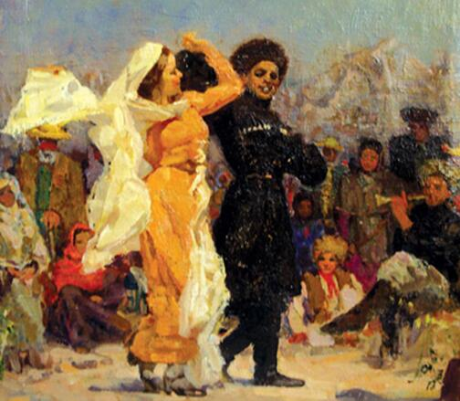 Рувим Мазель, «Танец», 1930-е гг.