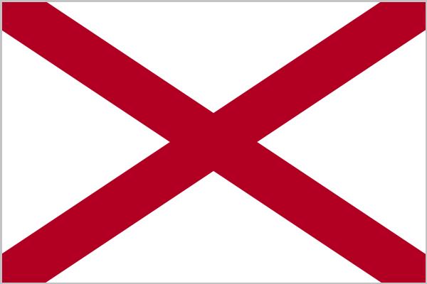 Флаг Алабамы