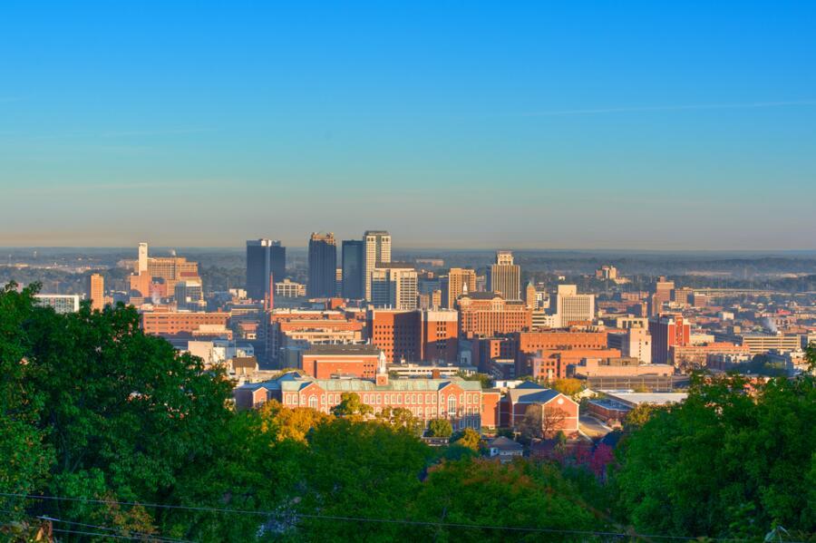 Город Бирмингем, штат Алабама, США