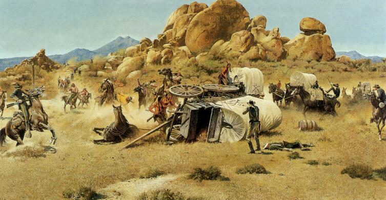 Роберт Макгиннис, «Бой на западе»