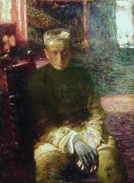 И. Е. Репин, «Портрет Керенского», 1917 г.