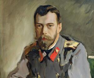 Это наиболее «человечный» портрет императора кисти Эрнеста Липгарта, 1900