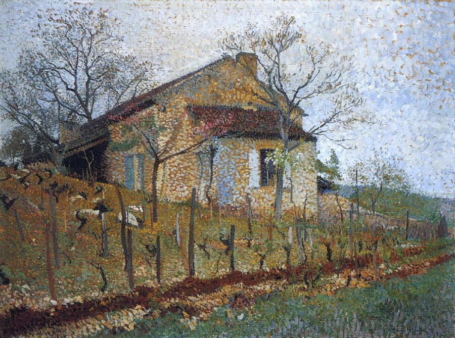 Анри Мартен, «Старый дом»