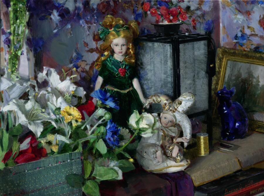 О. П. Долгая, «Алиса и Джокер», 2015 г.