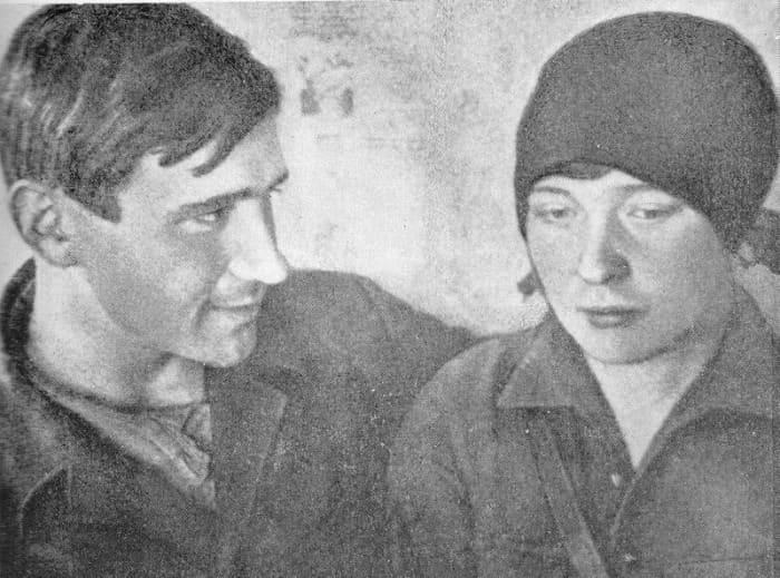 Николай Молчанов и Ольга Берггольц