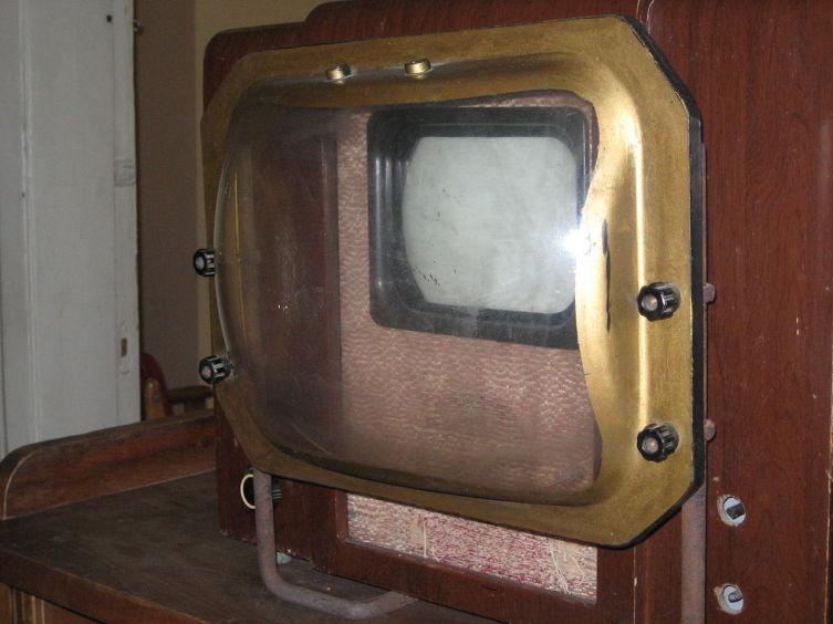 Телевизор «КВН-49» в музее Бориса Пастернака в Переделкине