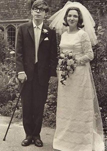 Стивен и его жена Джейн
