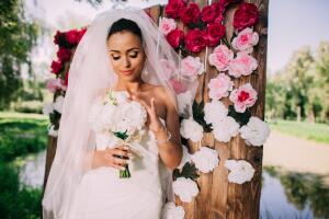 Необычные свадебные букеты - какие они?