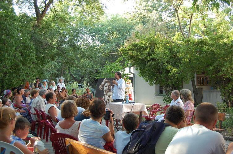 Празднование Дня рождения Макса Волошина, 2008 г.